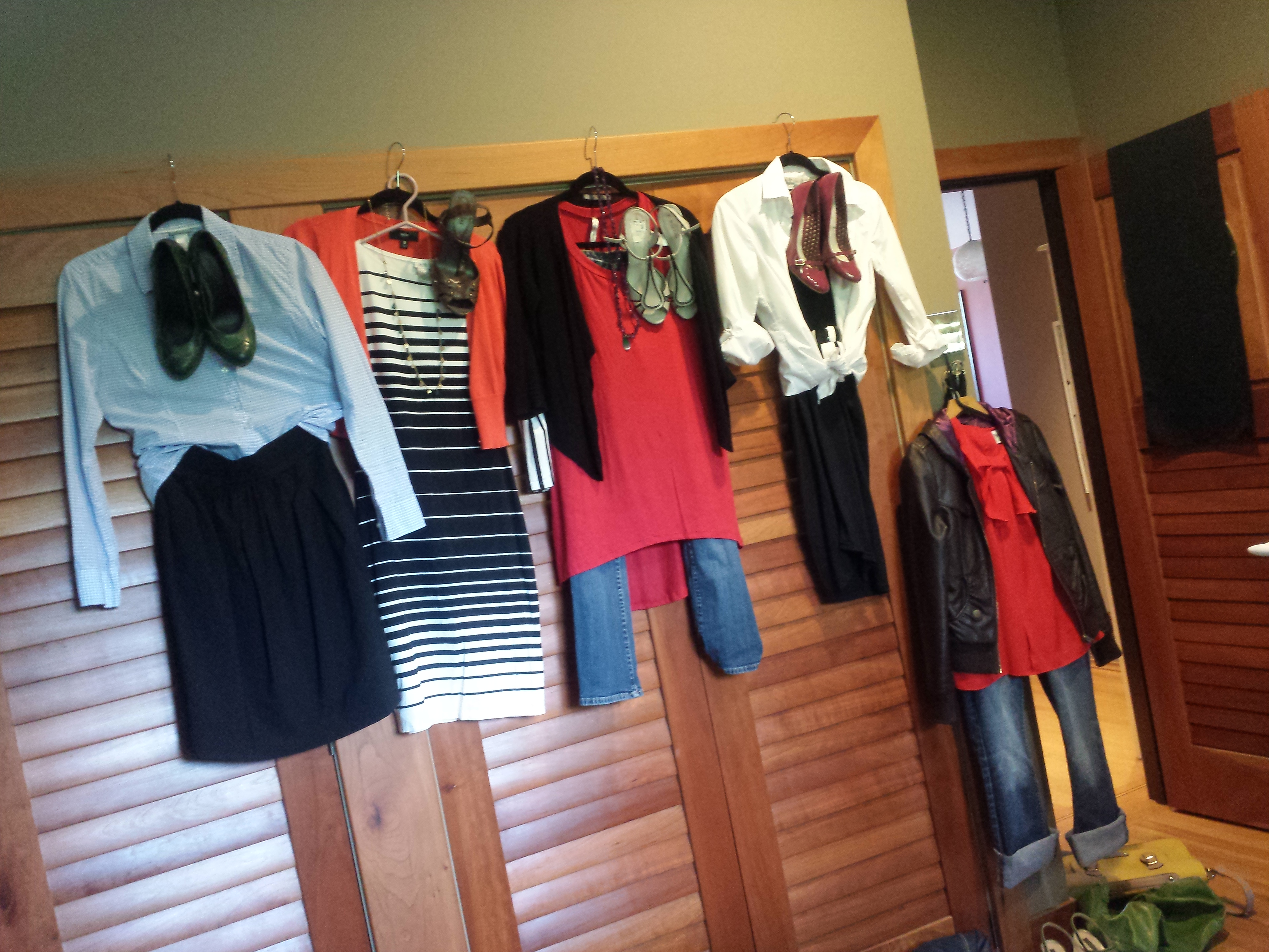 5 Key Outfits ready to go
